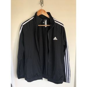 Adidas 3-stripe zip up jacket